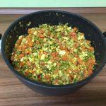 Expresné tofu so zeleninou